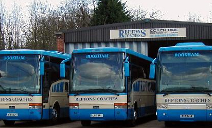 Reptons Coaches